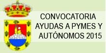 ABIERTA CONVOCATORIA DE AYUDAS A PYMES Y AUTÓNOMOS 2015 (Ampliar Noticia) 1