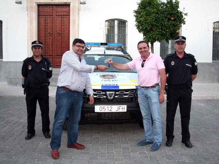 COCHE NUEVO PARA LA POLICÍA LOCAL