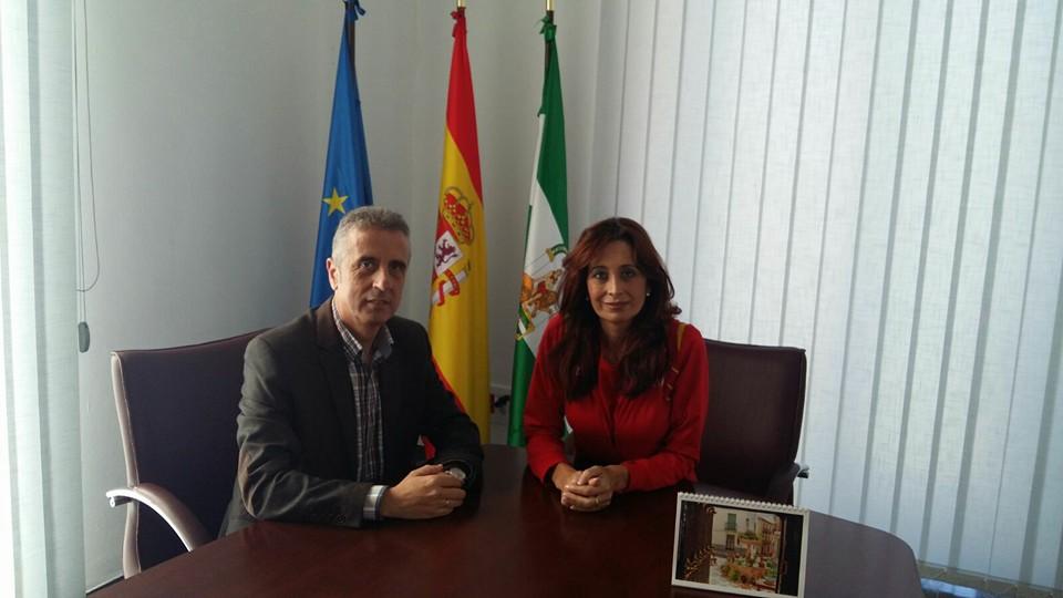 REUNIÓN DE LA ALCALDESA CON EL PRESIDENTE DE LA MANCOMUNIDAD DE LA SUBBÉTICA 1