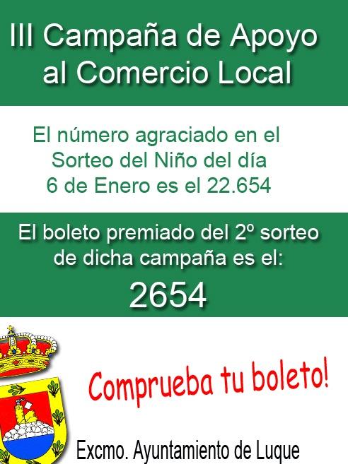 SORTEO CAMPAÑA APOYO AL COMERCIO LOCAL 1
