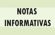 Notas informativas