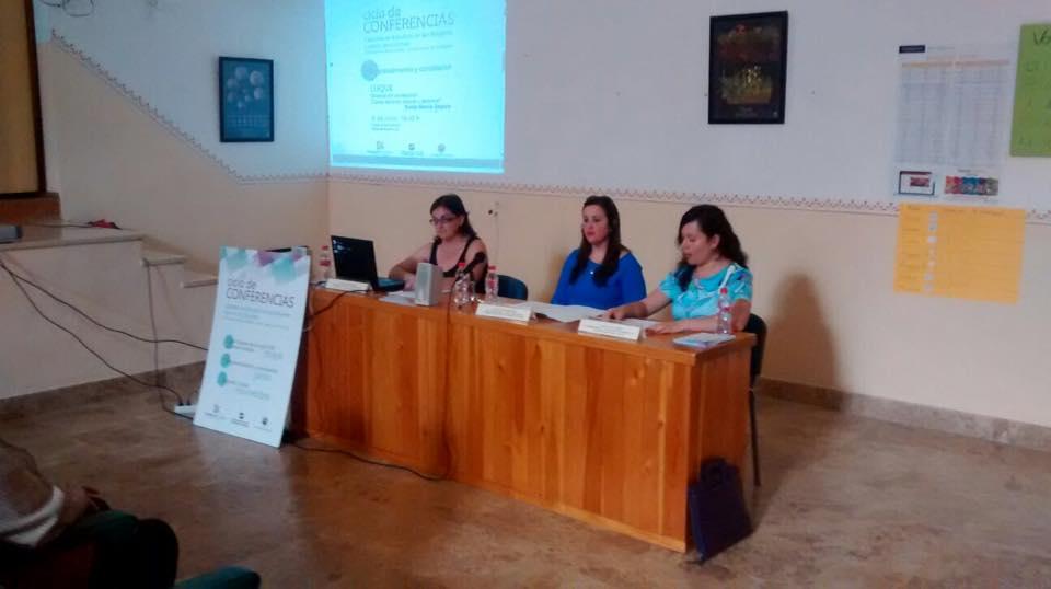 """CONFERENCIA DE LA CÁTEDRA DE ESTUDIOS DE LAS MUJERES LEONOR DE GUZMÁN """"ORIENTACIÓN PROFESIONAL. CLAVES DEL ÉXITO LABORAL Y PERSONAL"""" 1"""