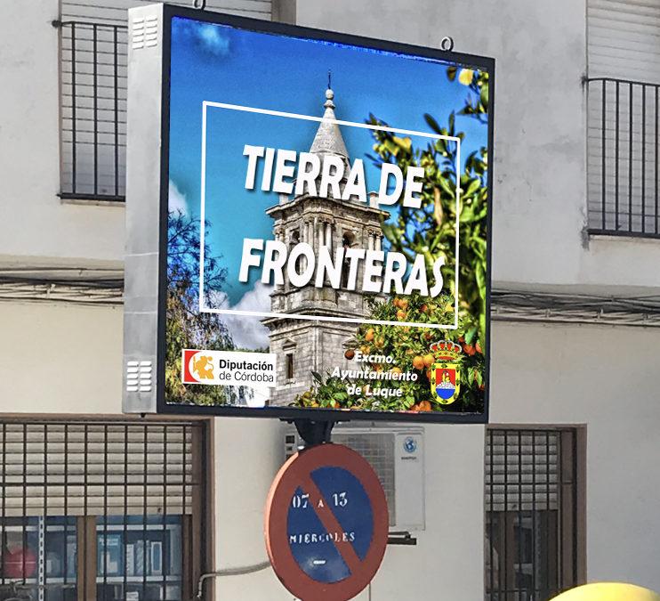 PANTALLA INFORMATIVA DIGITAL EN LA PLAZA DE ESPAÑA 1