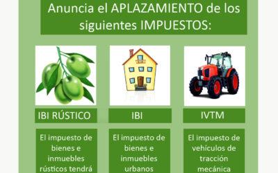 MEDIDAS FISCALES PARA PALIAR LOS EFECTOS DE LA CRISIS SANITARIA