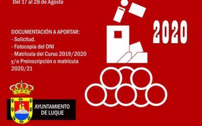 CAMPO DE TRABAJO LOCAL 2020