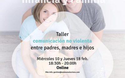 COMUNICACIÓN NO VIOLENTA ENTRE PADRES, MADRES E HIJOS.