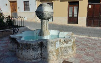 LIMPIEZA Y MANTENIMIENTO DE LA FUENTE EN CALLE ALTA  Y FUENTE EN PLAZA DE ESPAÑA