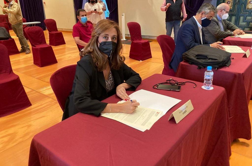 El Ayuntamiento de Luque firma convenio con La Diputación  para la puesta en valor del Camino Mozárabe cordobés a través de Iprodeco